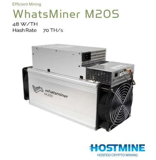 WhatsMiner M20S 70TH/s | HOSTMINE