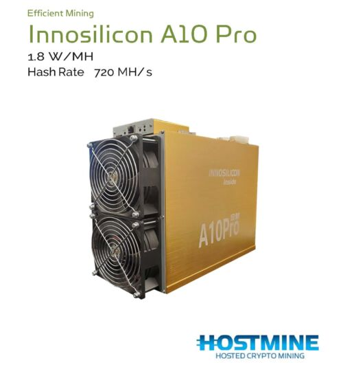 Innosilicon A10 Pro 720 MH/S 2