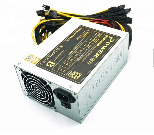 2000W Power PSU ATX GPU 2