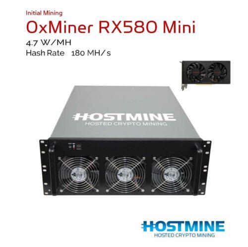 0xMiner RX580 Mini 8
